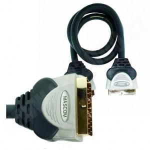 Kabel Scart - Scart 21pin 180 1.2m