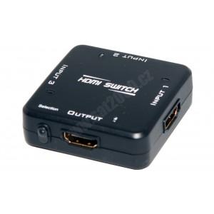 Přepínač HDMI-HDMI 3x1