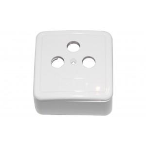 Víčko + rámček (barva bílá)